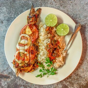 masgouf and rice