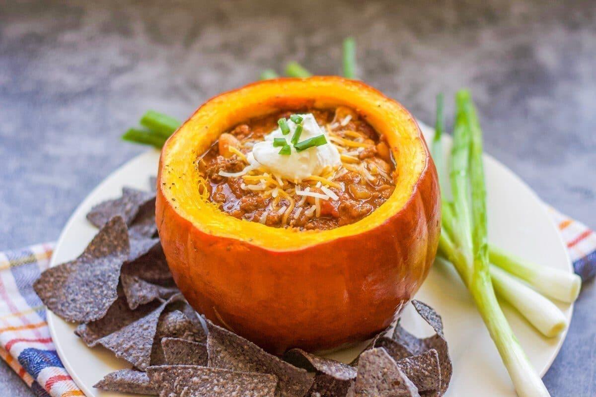 turkey pumpkin chili