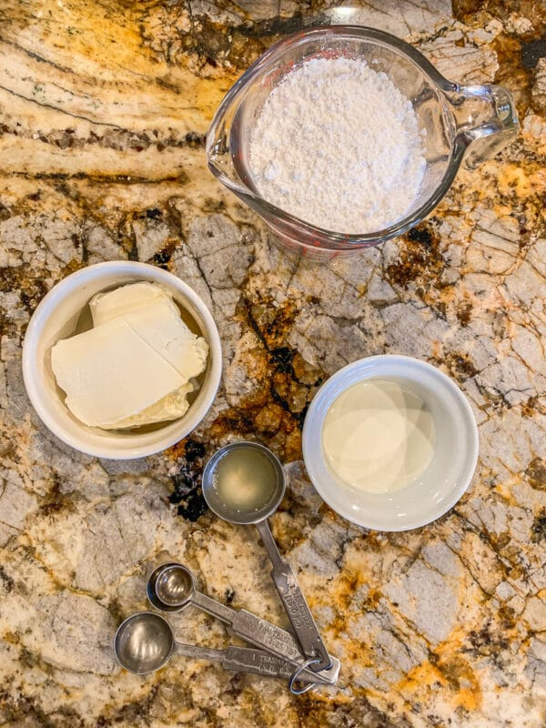 cream cheese icing ingredients